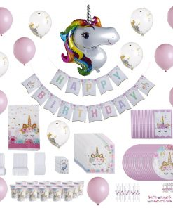 kit-decoration-anniversaire-licorne-fille