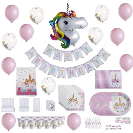kit-decoration-anniversaire-licorne-fille