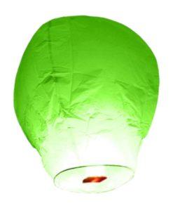 lanterne-volante-chinoise-Thailandaise-vert