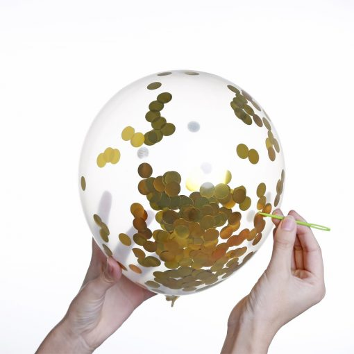 Ballon-Anniversaire-Or-