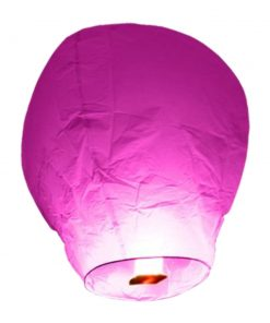 lanterne-volante-chinoise-thailandaise-Rose-Fushia-lot